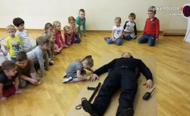 O bezpieczeństwie z przedszkolakami