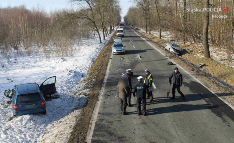 Tragiczny wypadek pod Krzepicami
