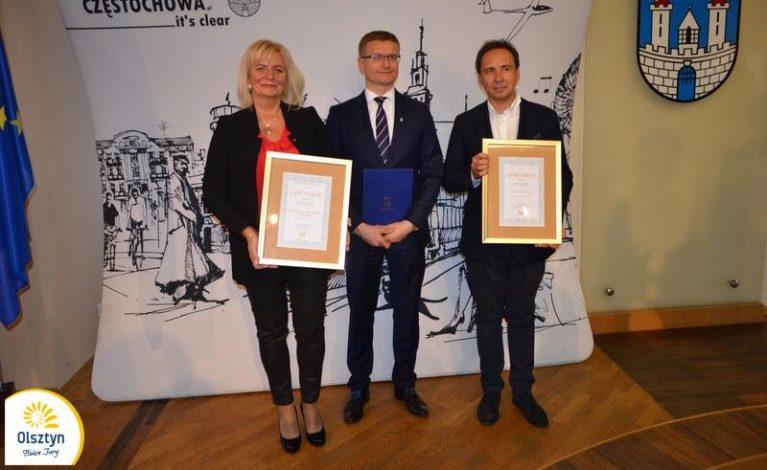 Certyfikaty dla Olsztyna