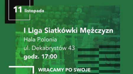 AZS wraca do Hali Polonia