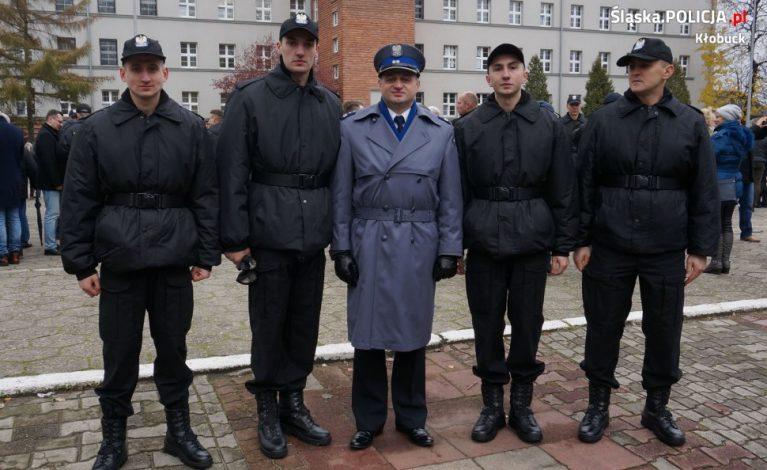 Nowi policjanci w Kłobucku