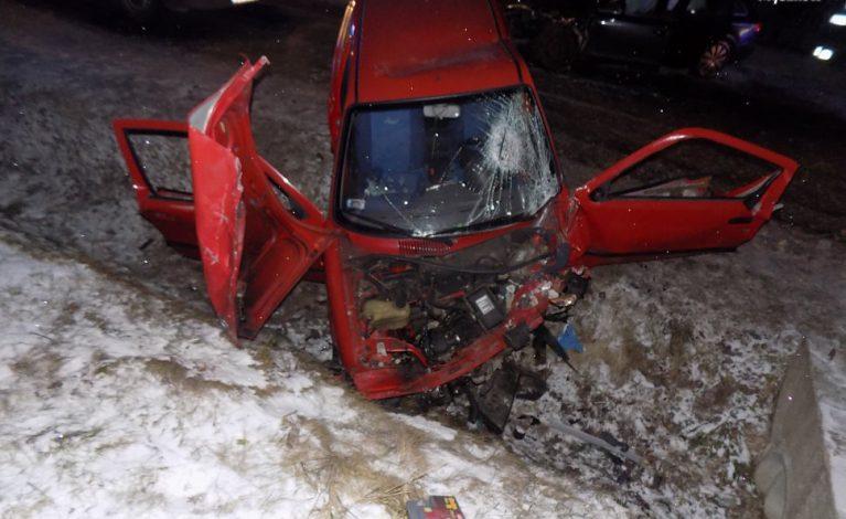 Po pijaku wsiadł za kierownicę. Spowodował wypadek