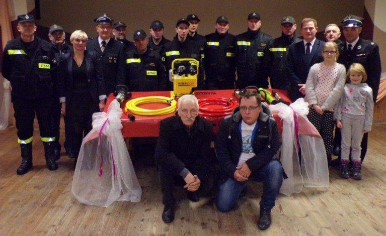 Strażacy z Kościelca z nowym sprzętem