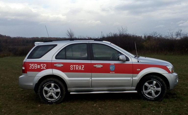Nowy samochód dla strażaków