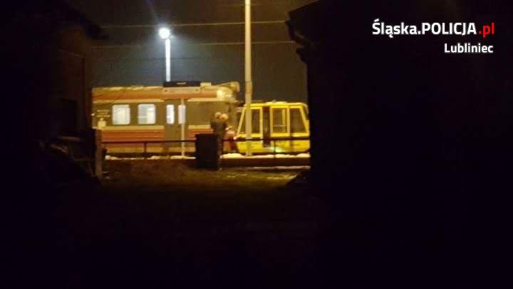 Nie zauważył pociągu…