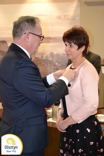 Odznaczona przez ministra