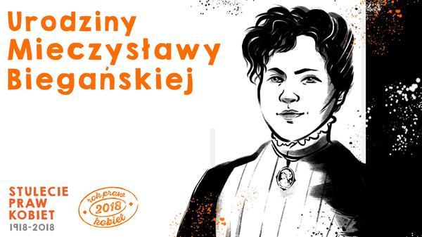 Urodziny Mieczysławy Biegańskiej