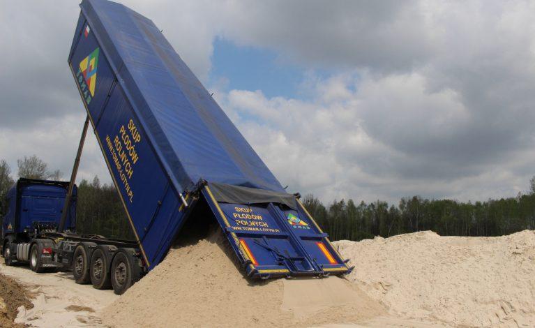 Nadmorski piasek dotarł do Częstochowy