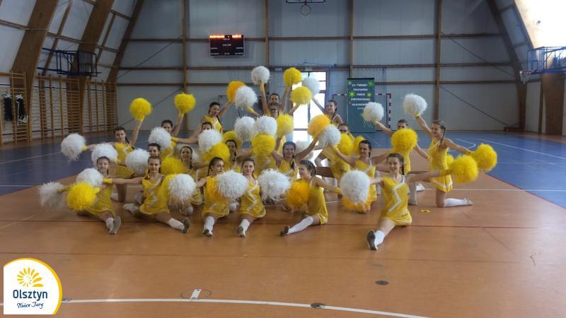 Sukcesy cheerleaderek z Olsztyna