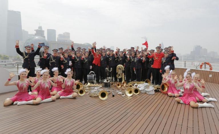 Orkiestra z Mykanowa podbiła Chiny
