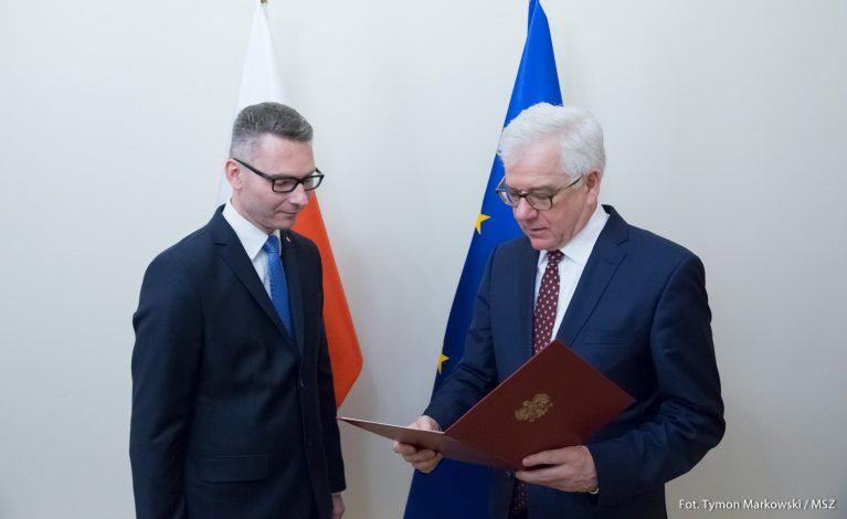 Konrad Głębocki ambasadorem we Włoszech