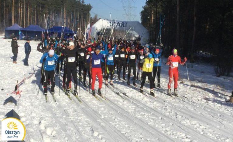 Bieg narciarski w Biskupicach