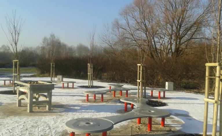 Inwestycja w parku Lisiniec