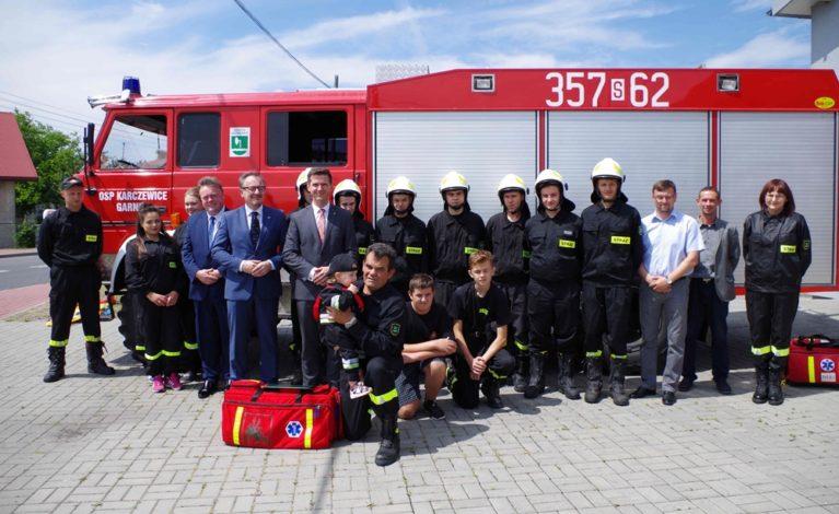 Najmłodszy strażak w kraju