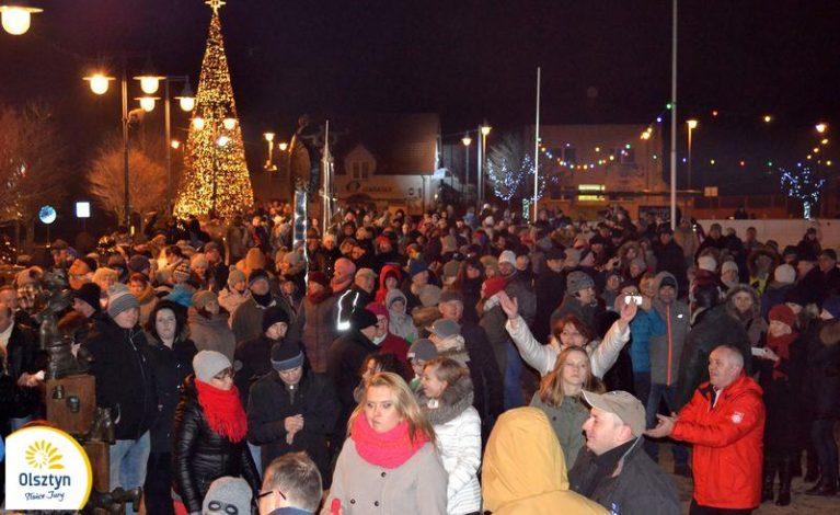 Mieszkańcy Olsztyna przywitali Nowy Rok