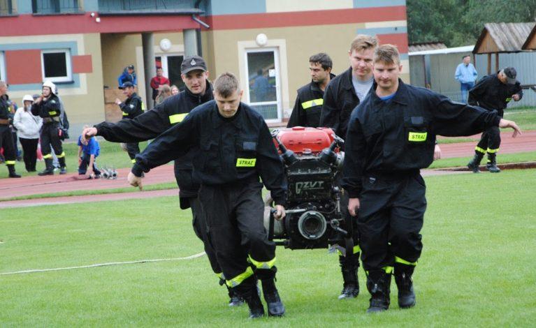Strażacka rywalizacja