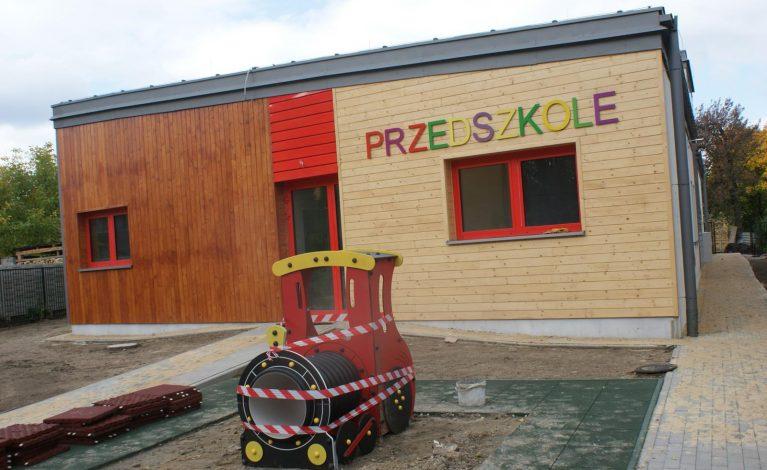 Przedszkole w Złotym Potoku prawie gotowe