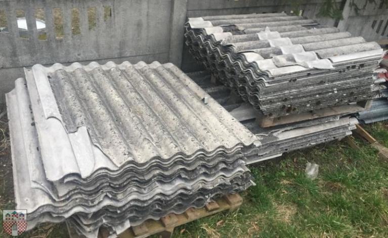 Mniej azbestu w gminie Żarki