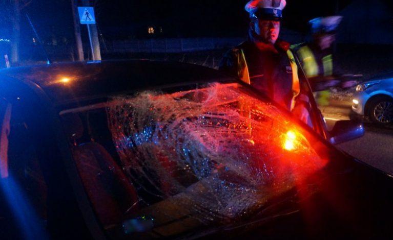 15-latka potrącona na przejściu