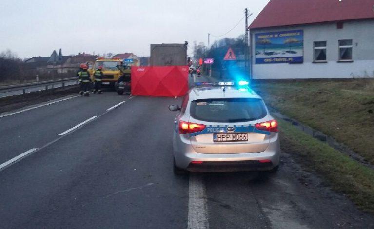 Śmiertelny wypadek na trasie DK-1