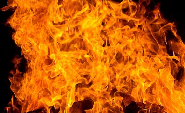 Śmierć w płomieniach