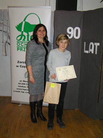 Laureat ogólnopolskiego konkursu
