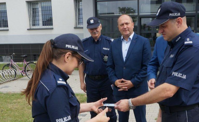 Dwie hybrydy dla policjantów z Kłobucka