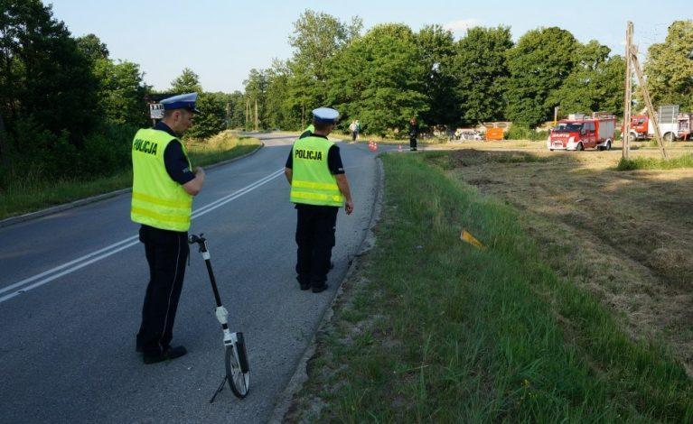 Tragiczny wypadek w Kniei