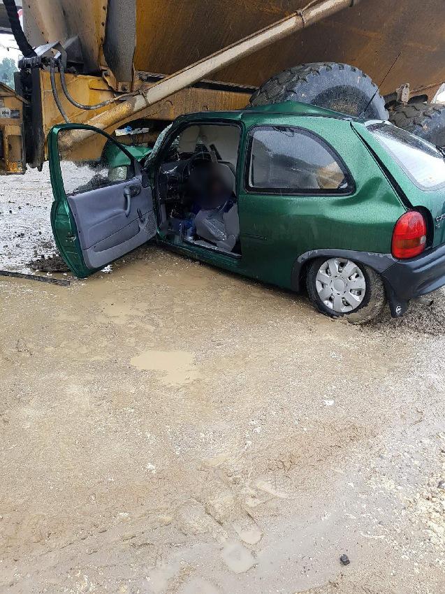 Tragedia podczas budowy autostrady