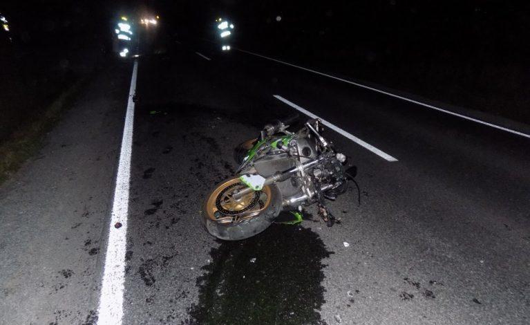 Nie ustąpił pierwszeństwa motocykliście