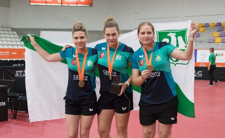 Grad medali częstochowskich studentek w Europejskich Igrzyskach Studentów