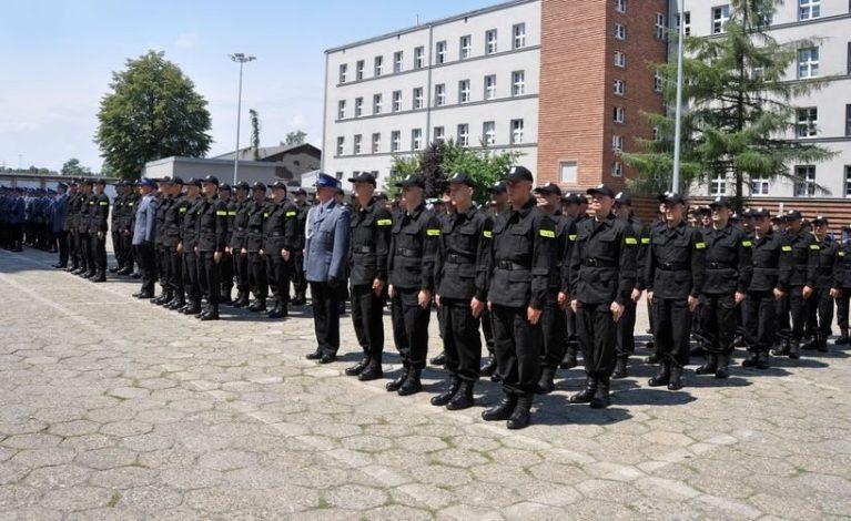 Nowi policjanci w Myszkowie i Lublińcu