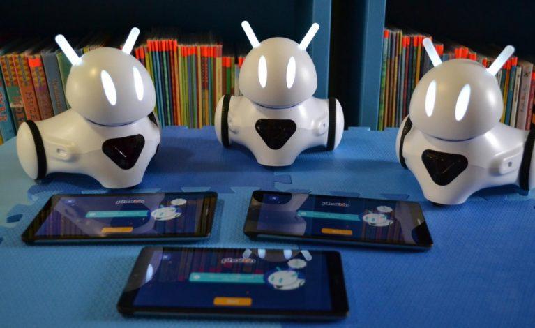 Roboty w janowskiej bibliotece