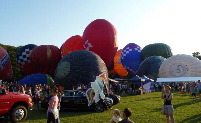 Balony latały nad Jurą