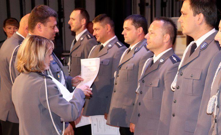 Święto policji w myszkowskim garnizonie