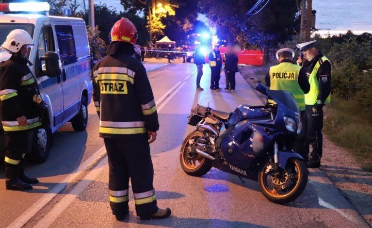 Tragiczny wypadek w Zawadzie