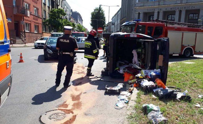 Wypadek na ulicy Kilińskiego