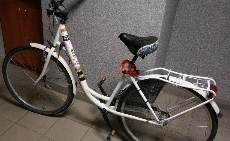 Właścicielka roweru poszukiwana