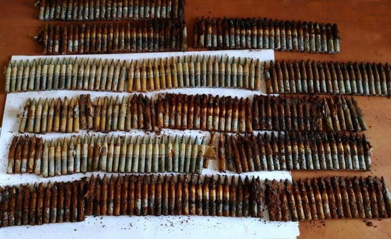 Zabezpieczyli amunicję z czasów II wojny światowej