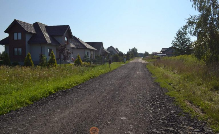 Gmina remontuje ulicę Wiznera