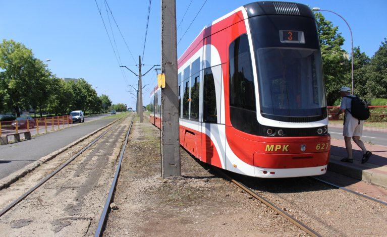 Przerwa w kursowaniu tramwajów
