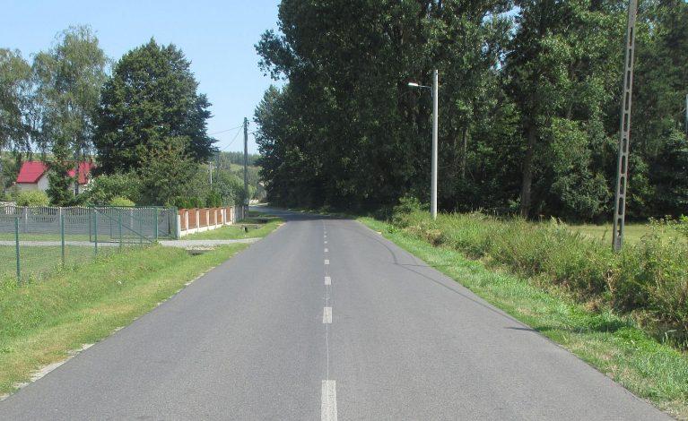 Wyremontowali drogę powiatową