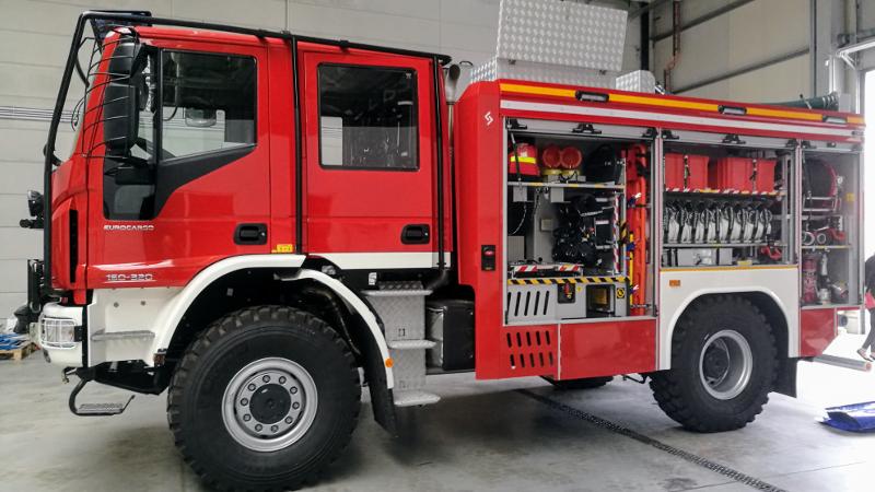 Pół miliona na nowoczesny wóz strażacki dla OSP Cisie