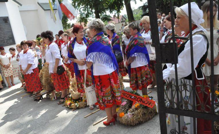 Gmina Janów podziękowała za plony