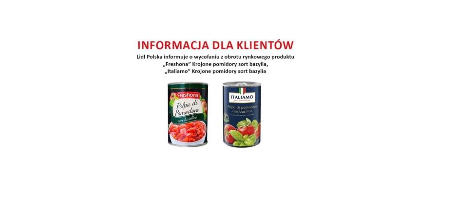 Plastik w pomidorach. Lidl wycofuje produkty