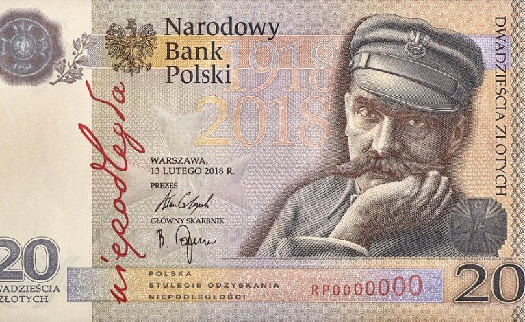Nowy banknot o nominale 20 zł