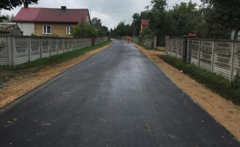 Ulica Niwa niemal gotowa