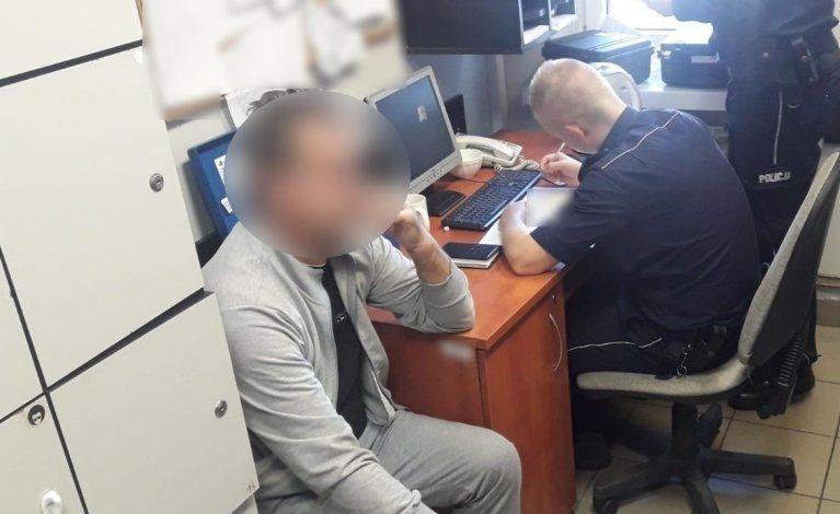 Świadek zareagował, dzielnicowi zatrzymali