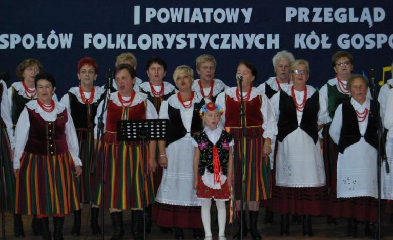 I Powiatowy Przegląd Zespołów Folklorystycznych
