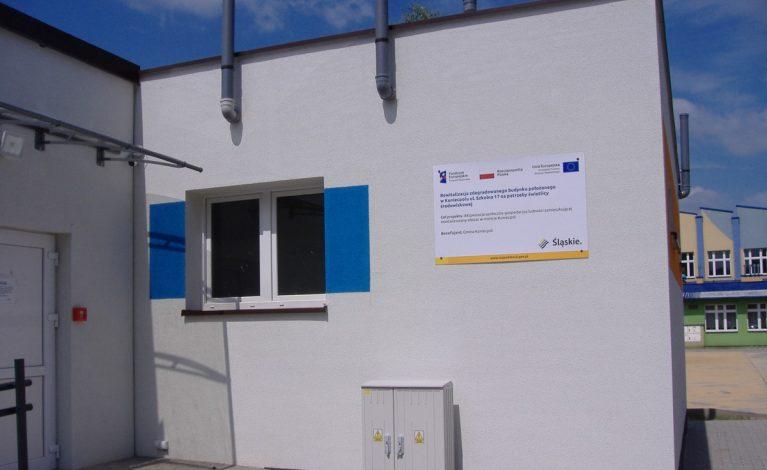 Rewitalizacja budynku przy ul. Szkolnej